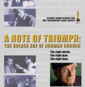A Note of Triumph: The Golden Age of Norman Corwin DVD